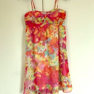 Romeo and Juliet Couture Summer Floral Dress Sz S